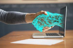לחיצת יד דיגיטלית